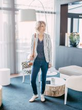 Dulce_veste_blazer_cintree_rayures_ecru_marine_ichi_kate_stripe_bl_2_cloud_dancer_femme_la_fee_louise_2