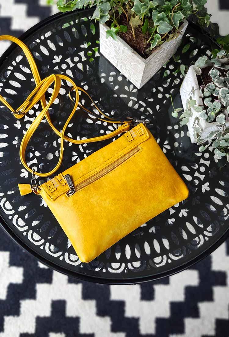 galila-pochette-bandouliere-simili-cuir-jaune-motif-rond-mandoline-md7024-la-fee-louise-2