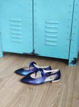 greta-ballerine-bleu-marine-irise-cuir-lacets-ruban-o-collection-la-fee-louise-3