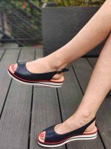 Josita-sandale-bleu-marine-liseret-rouge-1214740-ara-la-fee-louise-3