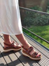 Karoline-sandale-multicolore-imprime-textile-graphique-camel-bleu-orange-blanc-TUD1080-gadea-la-fee-louise-07