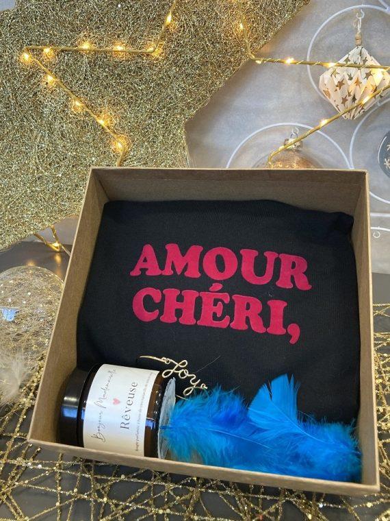 My-only-wish-box-5-bis-bougie-tshirt-noir-bracelet-la-fée-louise-1